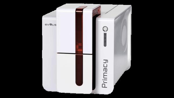 Evolis Primacy, beidseitig, 12 Punkte/mm (300dpi), USB, Ethernet, rot