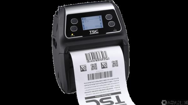 TSC Alpha-4L, 4'', USB, BT, WLAN, 8 Punkte/mm (203dpi), CPCL, TSPL-EZ