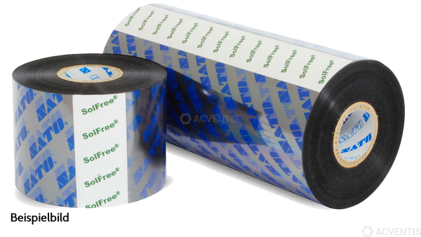 SATO Wax Resin Ribbon, 55mm x 91 Inch, 24 Stk. pro Box | Y59110100050