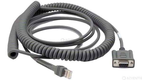 ZEBRA Verbindungskabel, RS232, Freezer, 2.7m | CBA-RF1-C09PAR
