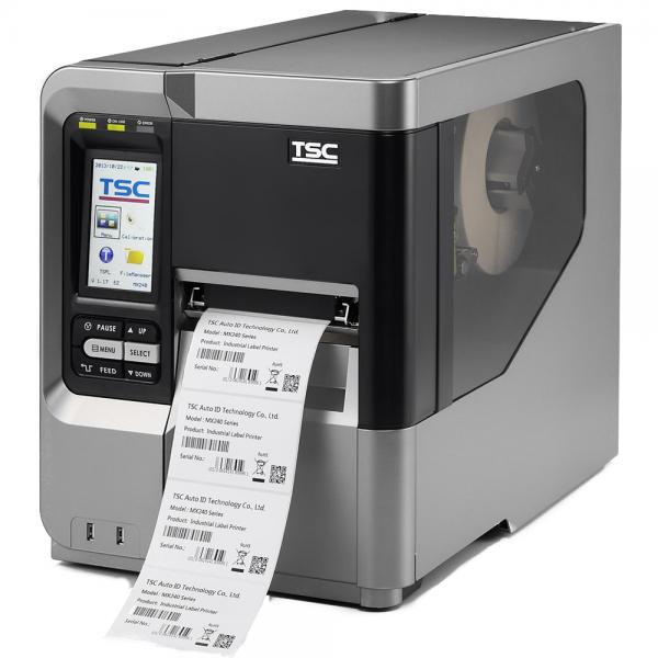 TSC MX640, 24 Punkte/mm (600dpi), Disp., RTC, TSPL-EZ, USB, RS232, LPT, Ethernet | 99-051A003-00LF