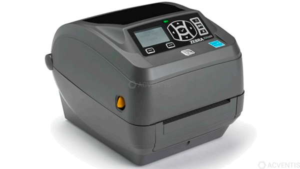 ZEBRA ZD500R, 12 Punkte/mm (300dpi), Cutter, RTC, RFID, ZPLII, Multi-IF (Ethernet) | ZD50043-T2E2R2F
