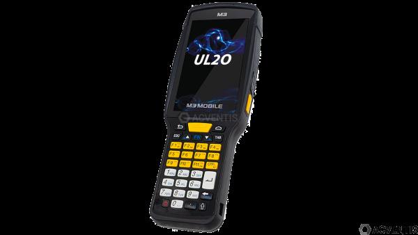 M3 MOBILE UL20X, 2D, BT, WLAN, 4G, Alpha, GPS, RFID, Android | U20X4C-12CFSS-HF