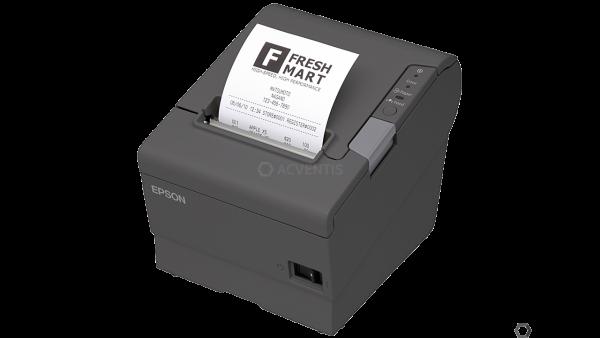 EPSON TM-T88V, USB, BT (iOS), dunkelgrau | C31CA85954