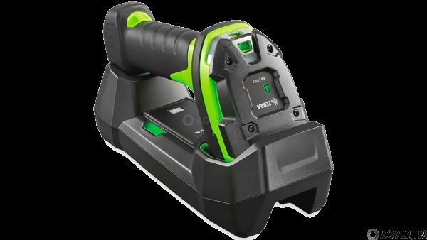 ZEBRA LI3678-SR, BT, 1D, SR, Multi-IF, FIPS, Kit (USB), schwarz, grün | LI3678-SR3U42A0S1W