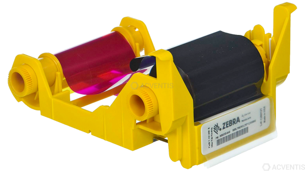 ZEBRA Farbband, für ZXP 3, 4 Farben | 800033-840
