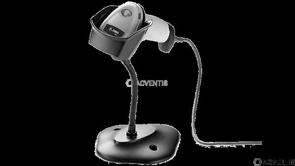 ZEBRA Handscanner DS2208, 2D, Multi-IF, Kit (USB), weiß, incl.: Standfuß | DS2208-SR6U2100SGW