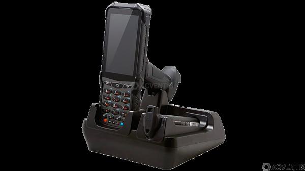 POINT MOBILE Lade-/Übertragungsstation für PM550, 1-Fach + Akkuladefach, USB | 550-SSC