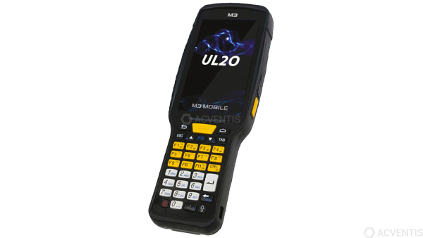 M3 MOBILE UL20X, 2D, SE4750, BT, WLAN, 4G, NFC, Func. Num., GPS, GMS, Android | U20X4C-P2CFSS-HF