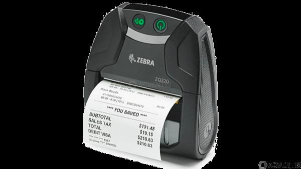 ZEBRA ZQ320 Outdoor, USB, BT, NFC, 8 Punkte/mm (203dpi), ZPL, CPCL | ZQ32-A0E02TE-00