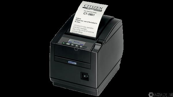 CITIZEN CT-S801II, 8 Punkte/mm (203dpi), Cutter, Display, schwarz   CTS801IIS3NEBPXX